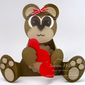 Teddy Bear Punch Art Card2